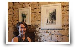 Marion Le Bec expose à la Maison des Chanoines, Landunvez