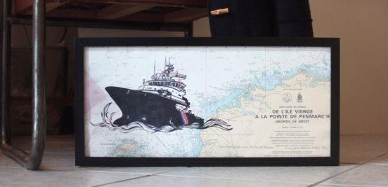 L'Abeille Bourbon en mer d'Iroise par Marion Le Bec