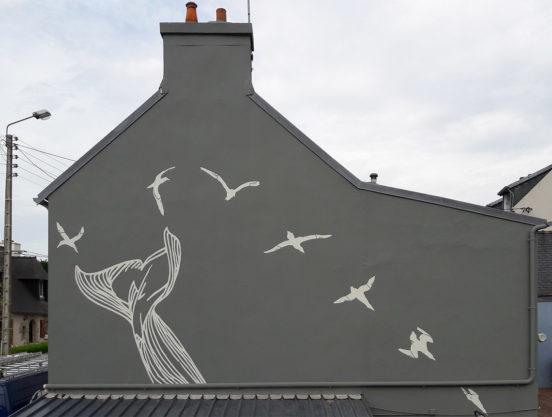 Fresque sur pignon