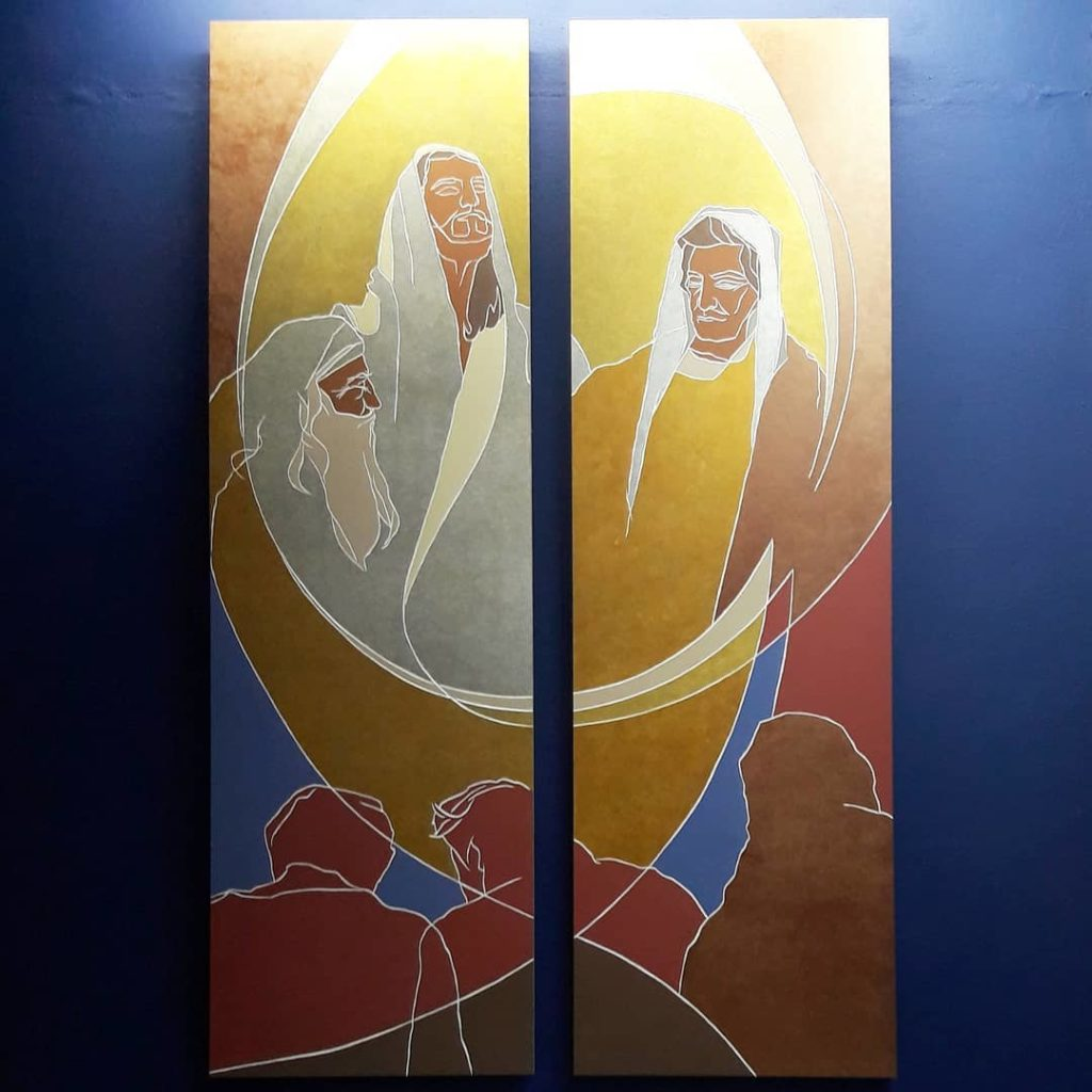 La Transfiguration - Mystères Lumineux à Notre-Dame du très Saint Rosaire à Kérizinen