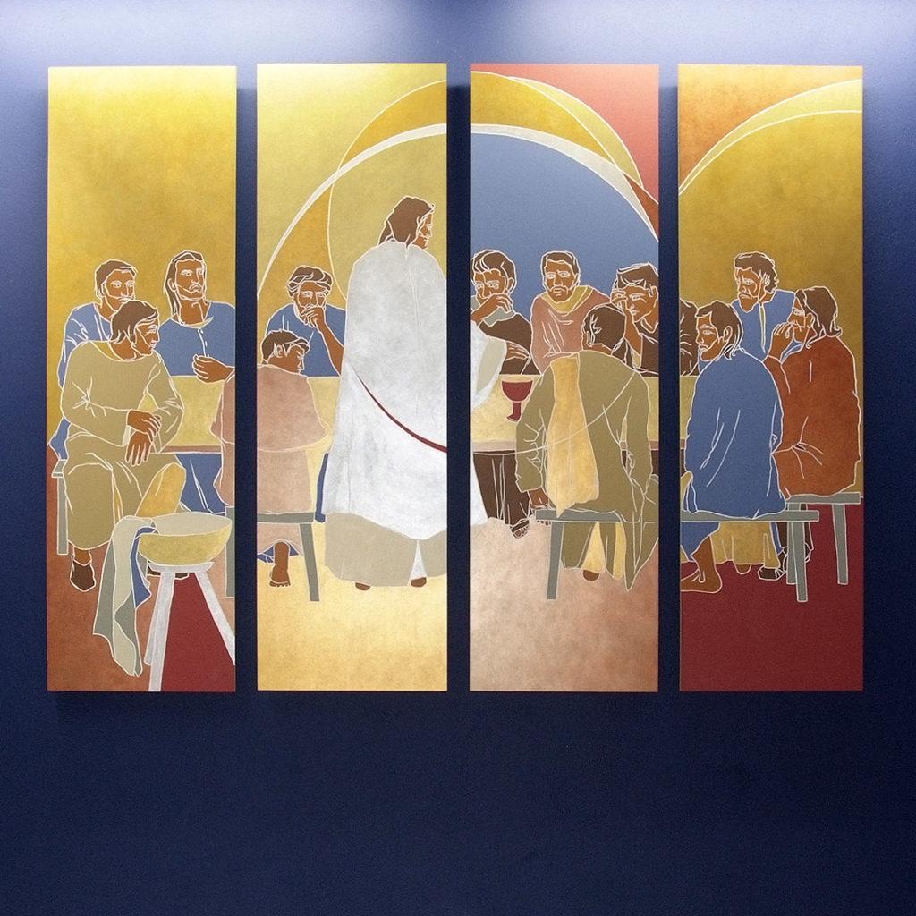 5e Mystère Lumineux : L'institution de l'Eucharistie