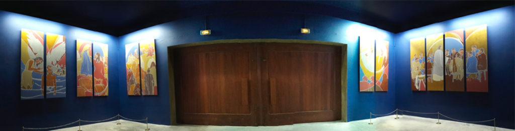 Panorama des Mystères Lumineux à Kérizinen