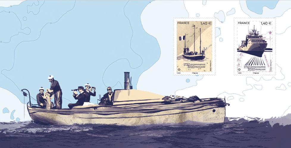 Feuillet 300 ans d'hydrographie française