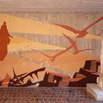 Fresque stage Art et Foi, juin 2021, Mission Saint Luc
